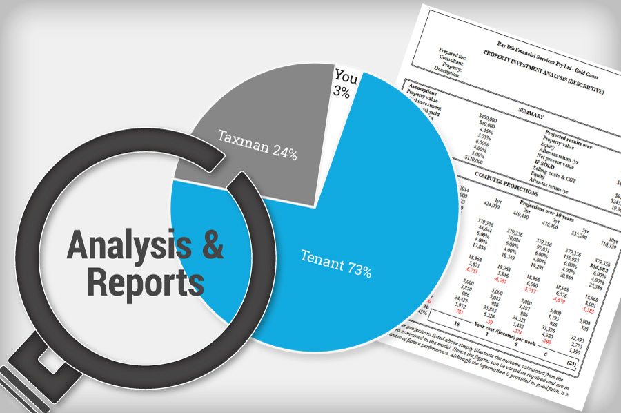 Investment Report $99.00*, Cash Flow Analysis $99.00*